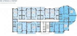 3 подъезд 19-24 этаж