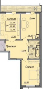 Поэтажный план 8 этаж