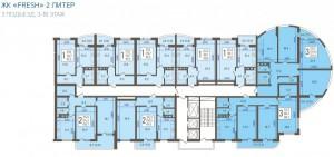 3 подъезд, 3-18 этаж