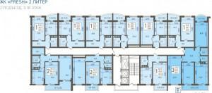 2 подъезд, 3-18 этаж