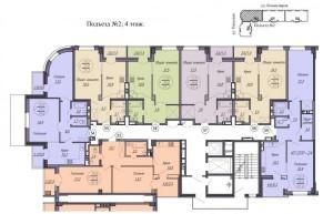 2 подъезд, 4 этаж