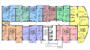 Подъезд 2, 2-16 этажи